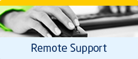 remote support from our dedicated team of staff