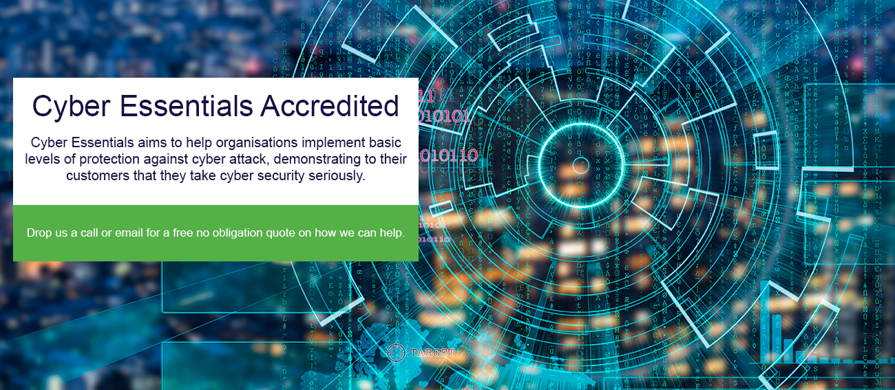 Support For Businesses - Cyber Essentials Accredited