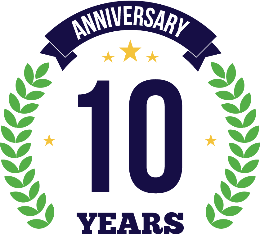 Celebrating 10 years of IT support